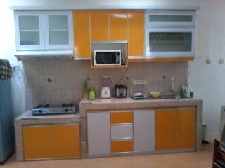 11 Contoh Kitchen Set Sederhana Untuk Dapur Kecil