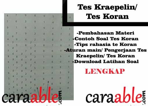Koran pdf tes