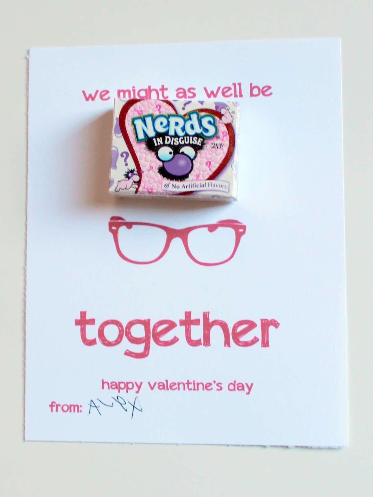 Nerdy Valentineu0027s
