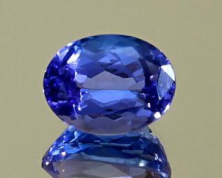 tanzanita, pedra preciosa rara