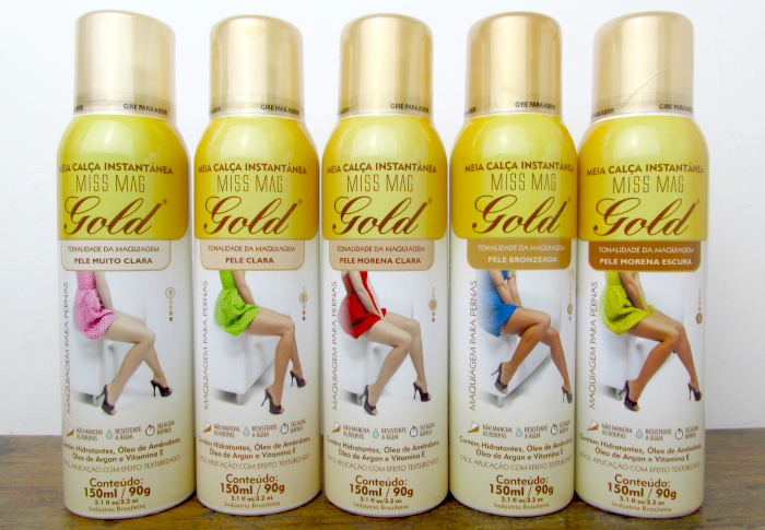 Meia Calça Instantânea Miss Mag Gold
