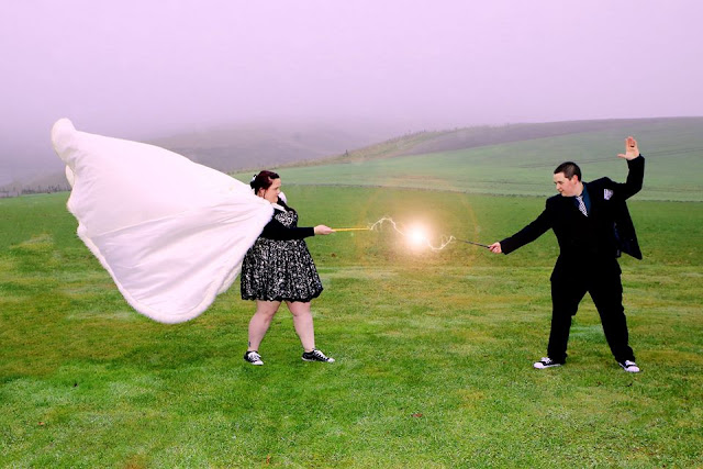 Emma Berry and Ben Shields from the UK wanted a magical wedding