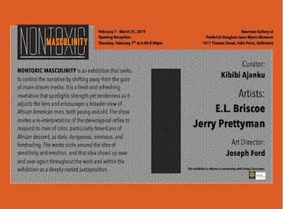 Eric Conway: Eric Briscoe Artwork: NonToxic Masculinity Exhibition - Feb. 7- Mar. 31