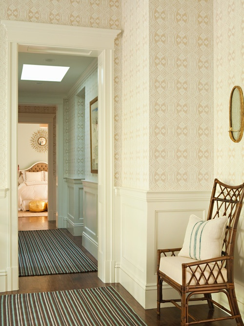Antique Homes and Lifestyle: Wallpaper Wednesday - Foyer and Hallway Wallpapers