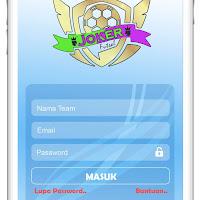 Contoh mocup aplikasi futsal lengkap