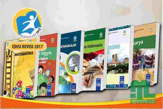 Download Buku Kurikulum 2013 Revisi 2017 Kelas 8 SMP/MTs