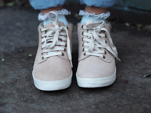 timberland EARTHKEEPERS GLASTONBURY women shoes nude pink