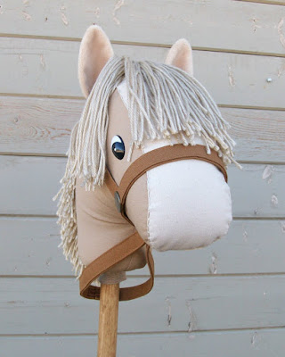 stick pony from toddler green christmas wish list tan rustic horse shoe