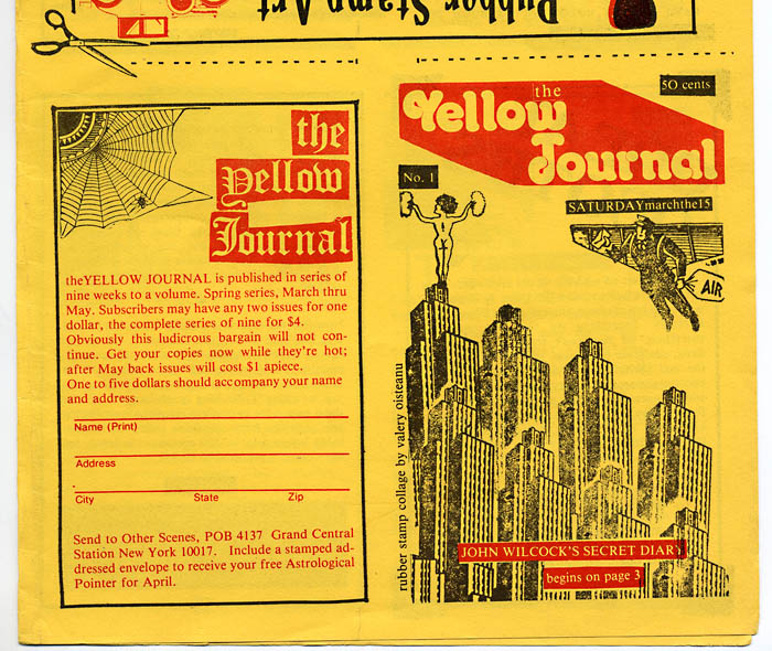 """THE YELLOW JOURNAL"" BERLIN!"