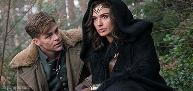 Dibesarkan di sebuah pulau terlindung dan  Sinopsis Film : Wonder Woman (2017)
