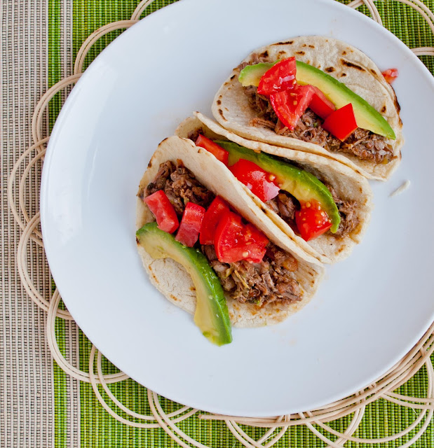 Crock Pot Tequila Beef - 10 minutes of prep is all you need for this easy gluten free meal!