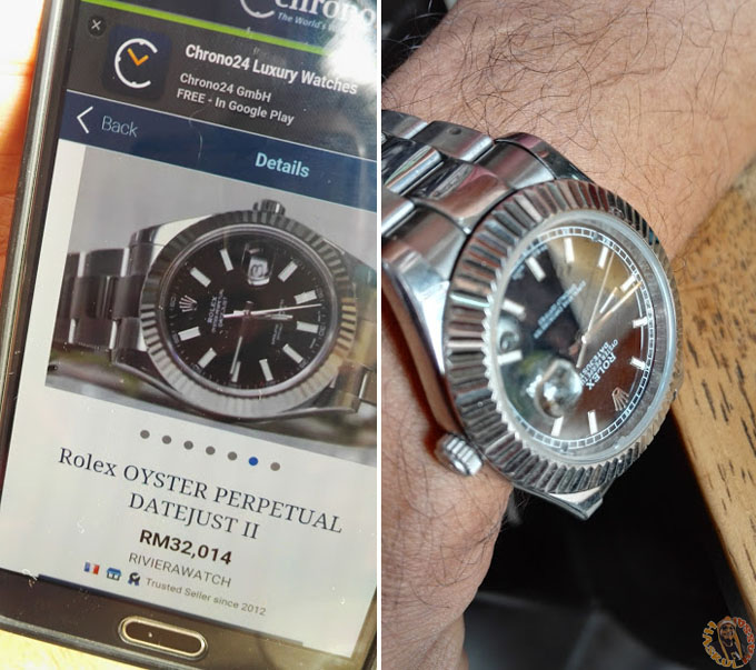 Rolex RM32K Mahu Dijual RM4K