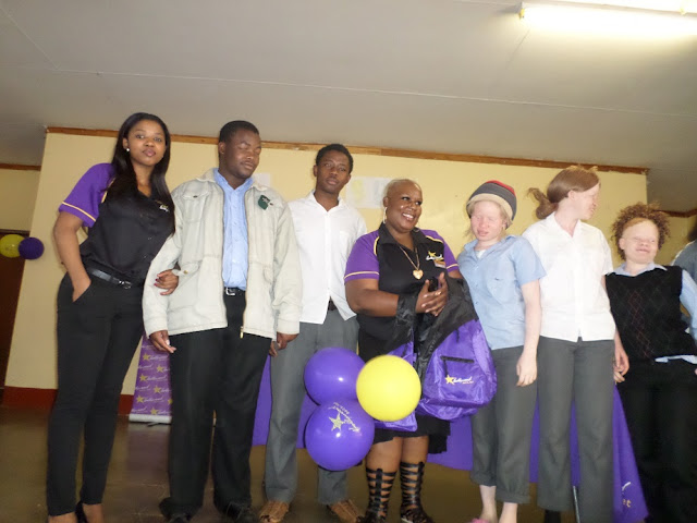 Hollywoodbets Makhado also supported Rivoni Society for the Blind as part of the Hollywoodbets Social Responsibility Programme