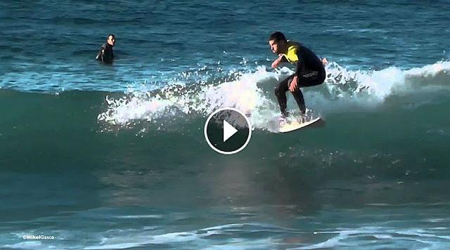 Popular Surfers in La Zurriola Beach