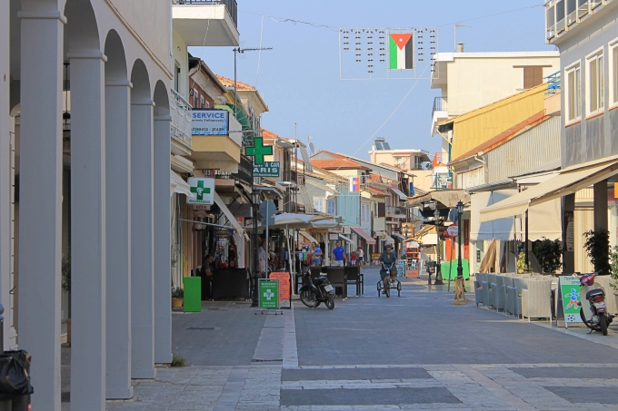 Lefkaksen kaupunki, Lefkada