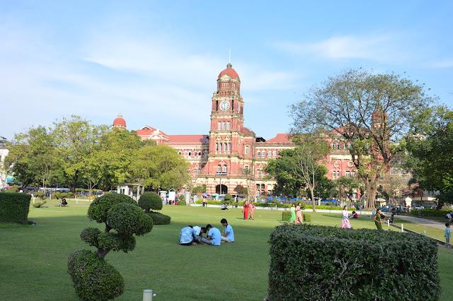 Parc de Yangon