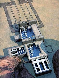 Imagen aérea de Gebel Barkal
