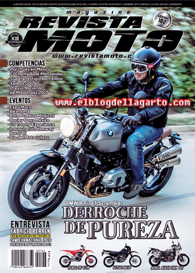 Revista moto No162 - BMW Derroche de pureza