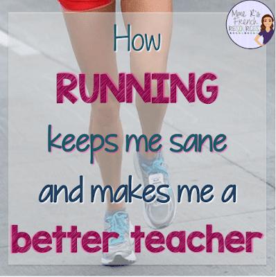 How running makes me a better teacher and keeps me sans