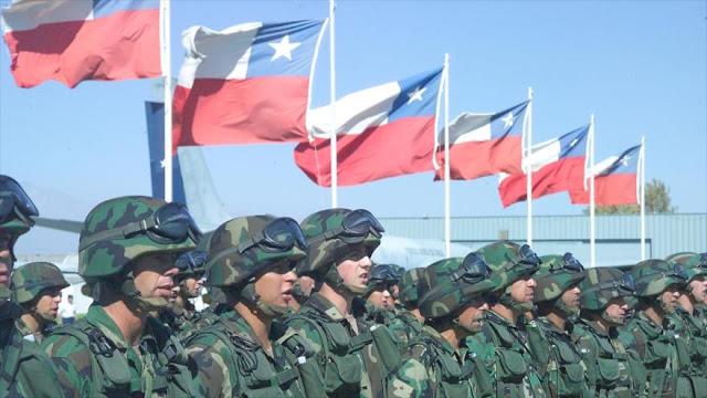 Ejército chileno remueve a 6 militares por megafraude de $ 8 millones
