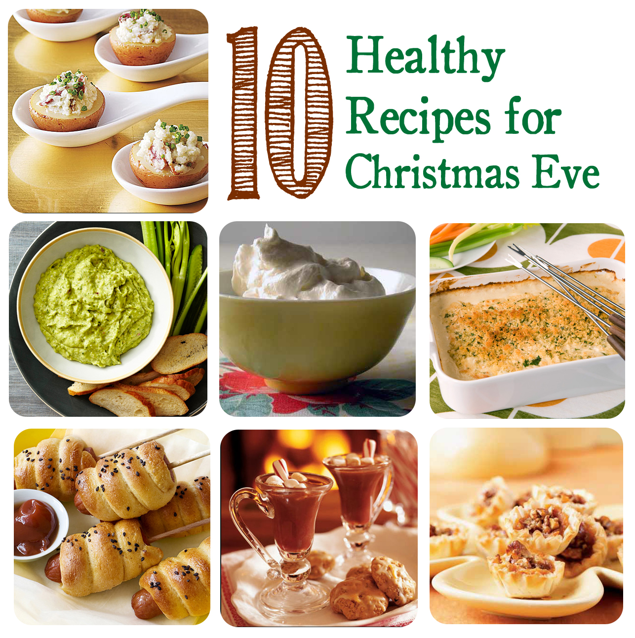 My Inspired Home: Christmas Eve: Healthy Appetizers