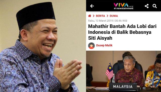 Netizen Indonesia Minta Maaf ke Datuk Mahathir atas Hoax terkait Pembebasan Siti Aisyah