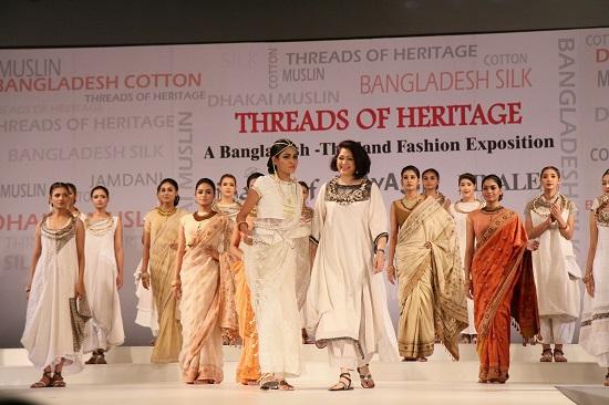 Threads Of Heritage Bangladesh Thailand Silk Exposition