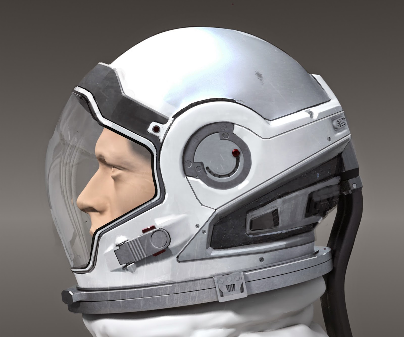 Wonderful INTERSTELLAR Spacesuit Concept Art by Romek ...