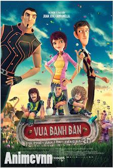 Vua Banh Bàn-Foosball - Hoạt Hình Vua Banh Bàn 2015 Poster