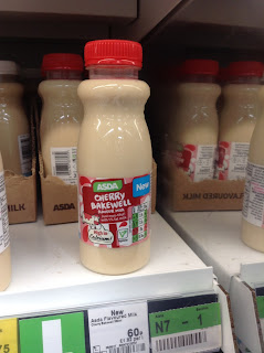 Asda Cherry Bakewell Milk