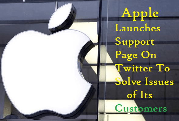 Apple Launches Support Page On Twitter