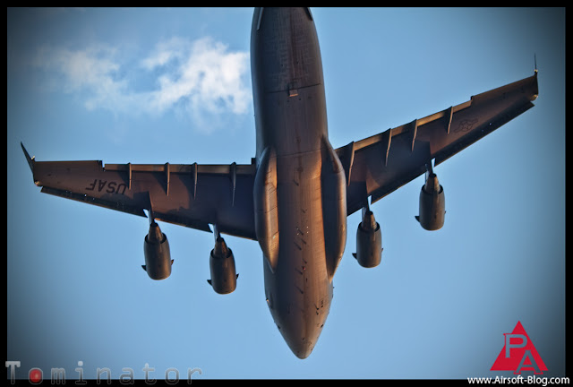 Boeing C-17 Globemaster III, Yucaipa High School Fireworks, Huge plane flying over Yucaipa, 4th of July flyover, Pyramyd Airsoft Blog, Tom Harris Media, Tominator,