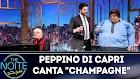 """The Noite com Peppino Di Capri canta """"Champagne"""" 18/03/2019"""