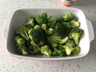 Brócoli antes del horno
