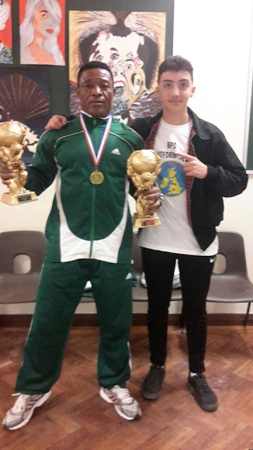Mr Prince Kennedy, an indigene of Imo state, Breaks World Record In Power Lifting Competition In The UK (Photos) Hkn4