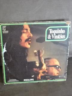 Disco de Vinil Toquinho e Vinicius