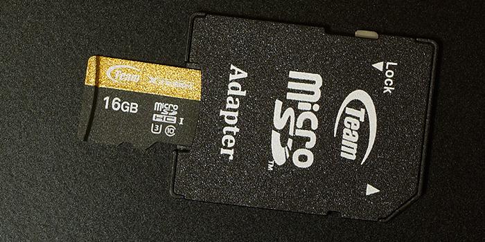 SD変換アダプタが付属