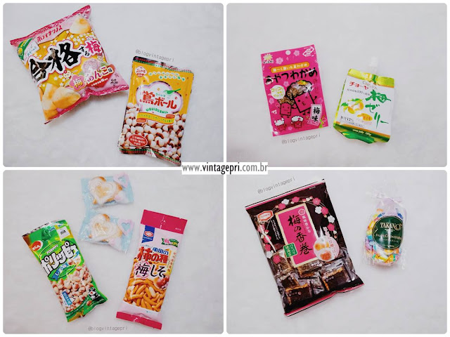 #Recebidos: Kizuna Box (Snacks Japoneses)