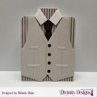 Divinity Designs Custom Dies: Couture Collection, Embossing Folder: Fish, Paper Collection: Menswear Material