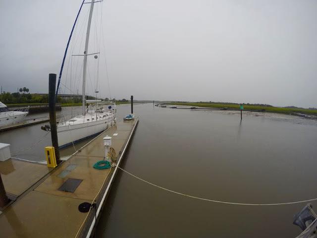 Tropical Storm Colin, Amelia Island, FL