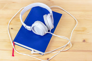 Image: AudioBook, by Felix Lichtenfeld on Pixabay