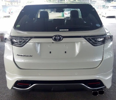 Toyota Harrier 2.0 Premium Advanced Specs