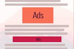 Cara Pasang 2 Iklan Adsense Di tengah postingan secara otomatis