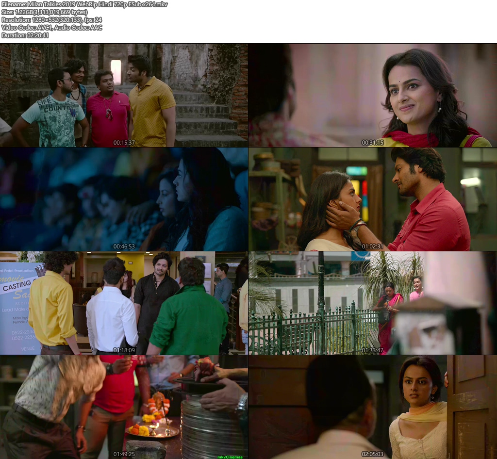 Milan Talkies 2019 WebRip Hindi 720p ESub x264 | 480p 300MB | 100MB HEVC Screenshot