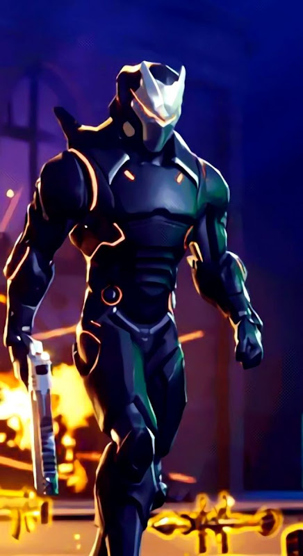 Cool fortnite galaxy skin wallpaper