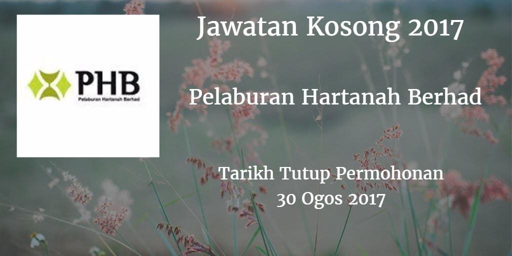 Pelaburan Hartanah Berhad Jawatan Kosong PHB 31 Ogos 2017