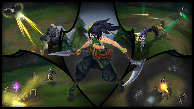 Continued Akali Champion Update Testing