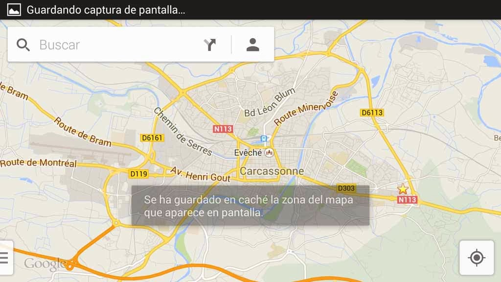 Mapas offline Google Maps Iphone