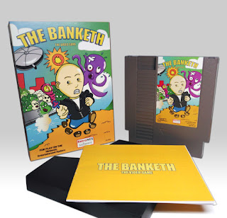 The Banketh, videojuego para NES - Campaña Verkami