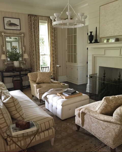 Southern Living Room: Color Outside The Lines: Inspired By Mark D. Sikes And The